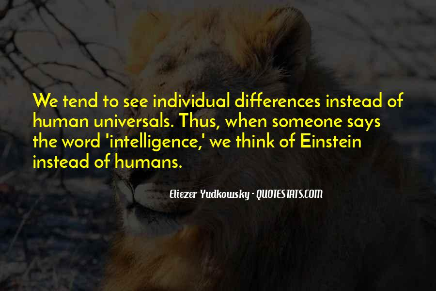 Quotes About Individual Differences #1423327