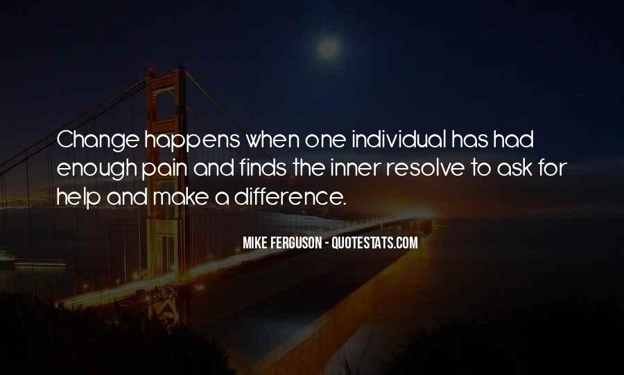 Quotes About Individual Differences #1620788