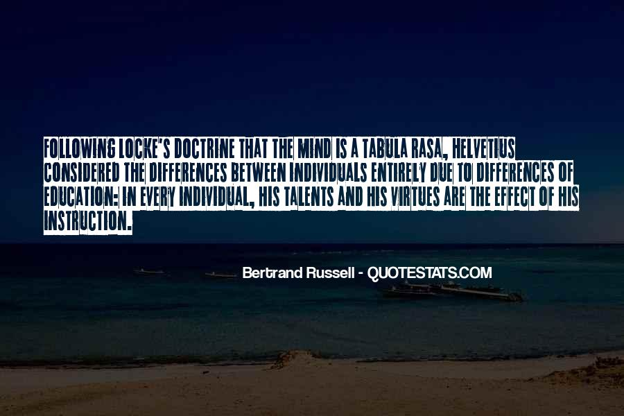 Quotes About Individual Differences #1820252