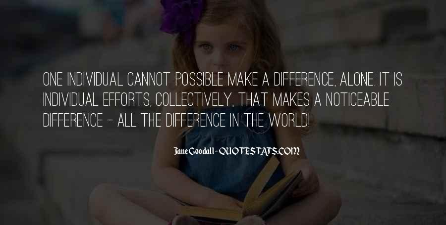 Quotes About Individual Differences #442736