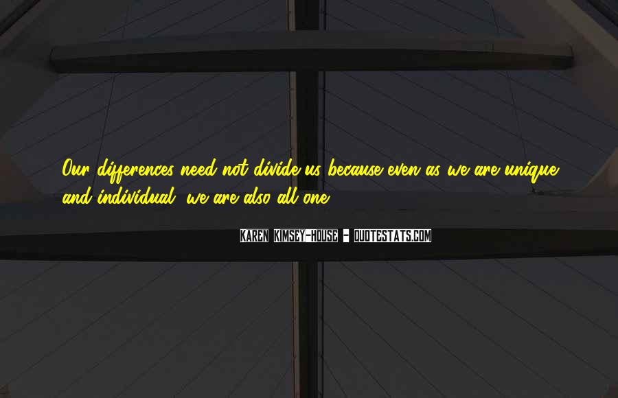 Quotes About Individual Differences #588811