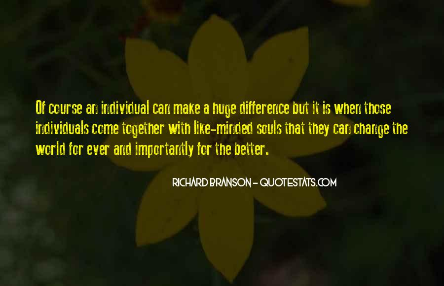 Quotes About Individual Differences #734835
