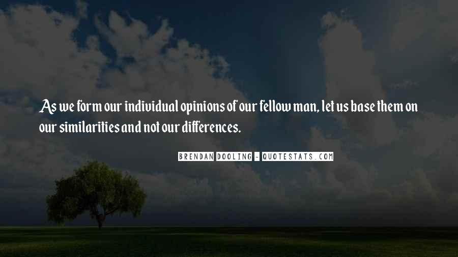Quotes About Individual Differences #81416