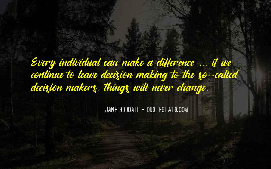 Quotes About Individual Differences #96003