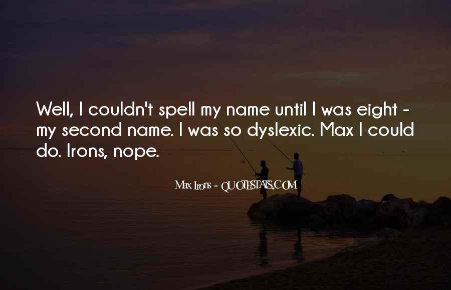 Quotes About My Name #19999