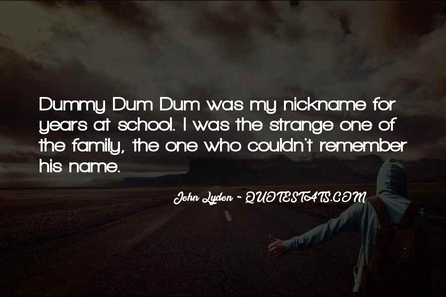 Quotes About My Name #36425