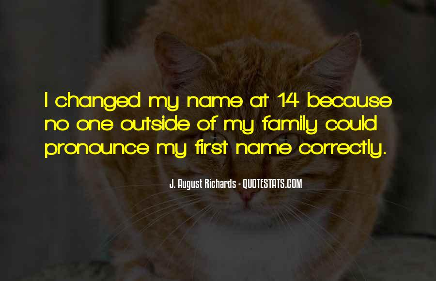 Quotes About My Name #46028