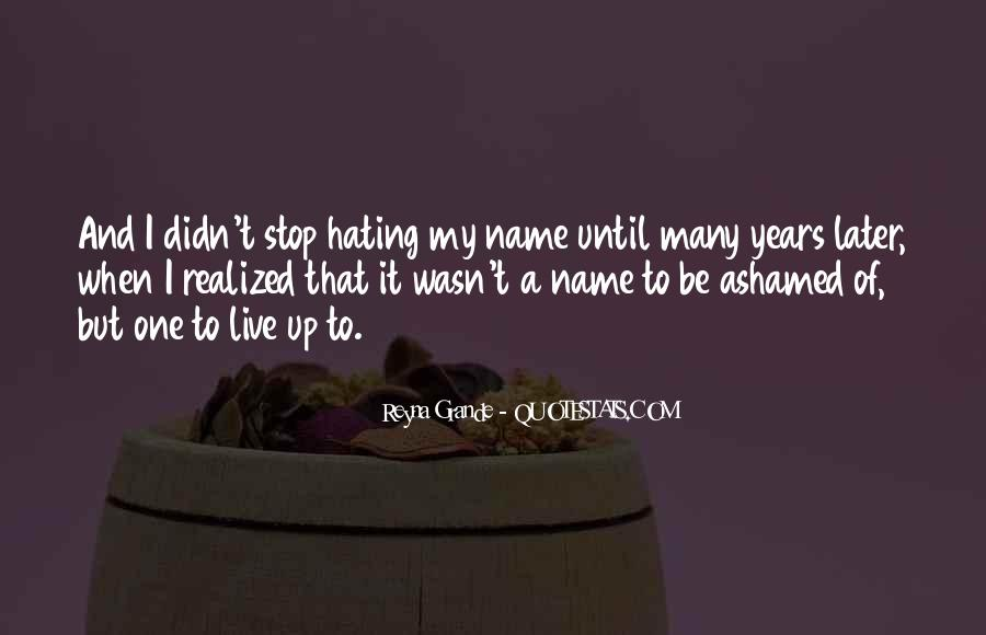 Quotes About My Name #49983