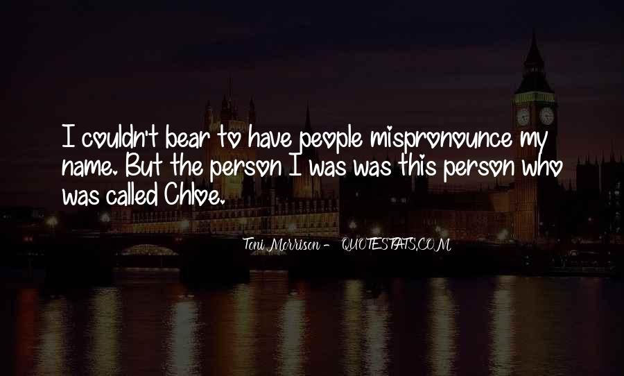 Quotes About My Name #54025