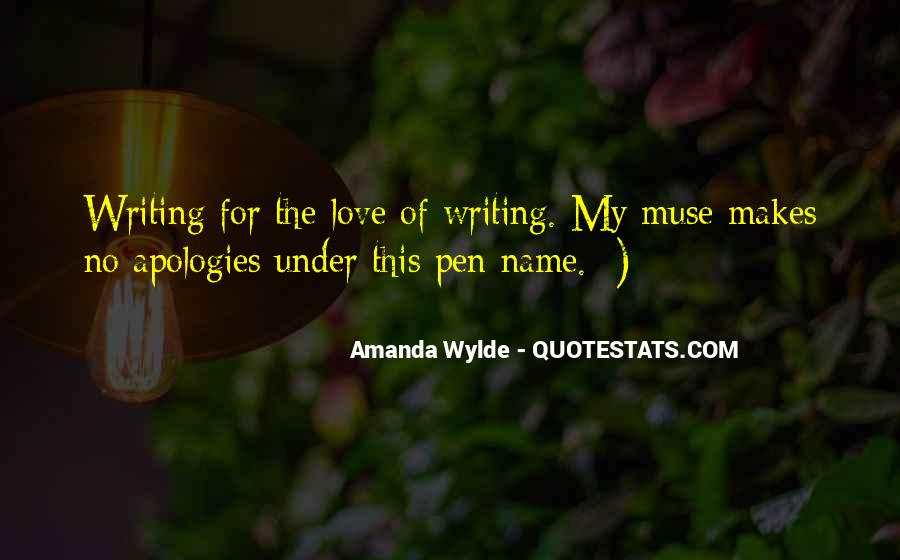 Quotes About My Name #9628