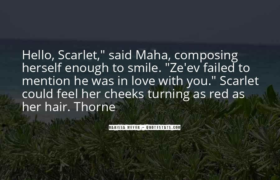 Quotes About Scarlet #101416