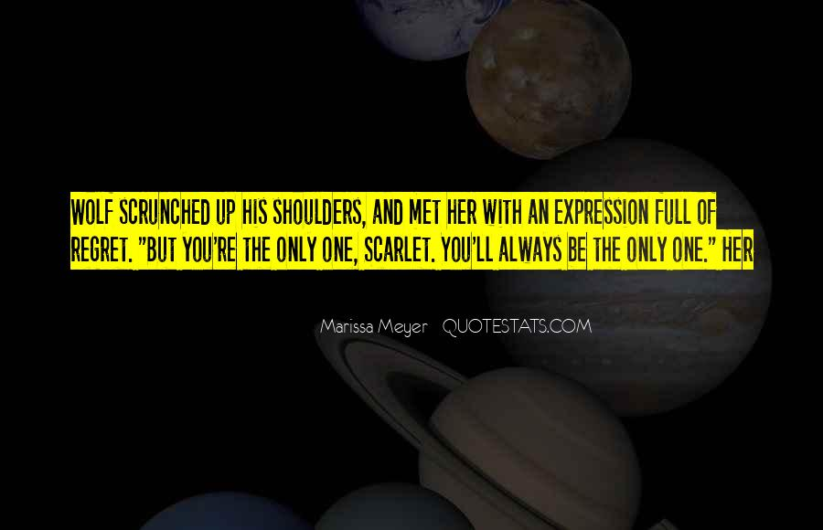Quotes About Scarlet #211843
