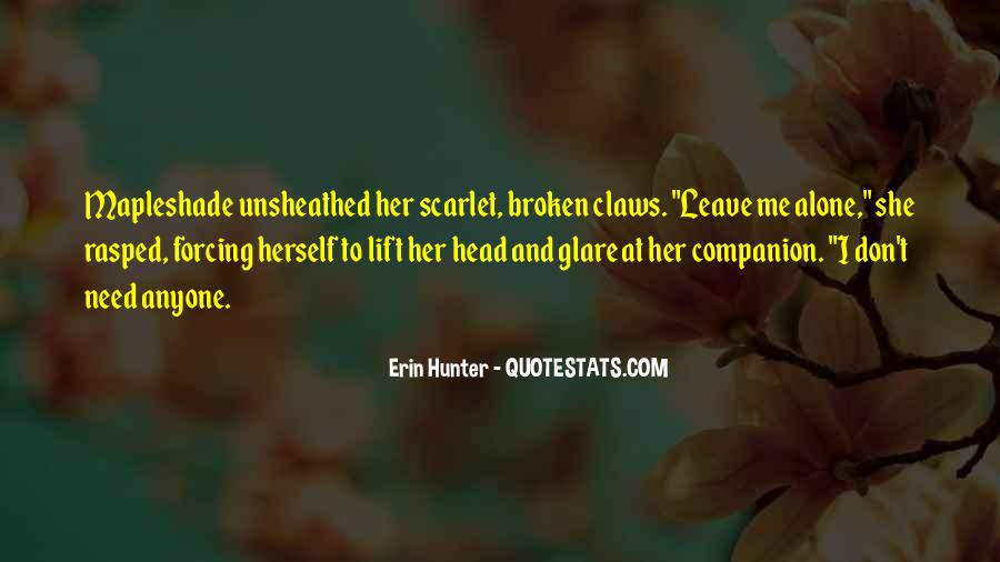 Quotes About Scarlet #249517