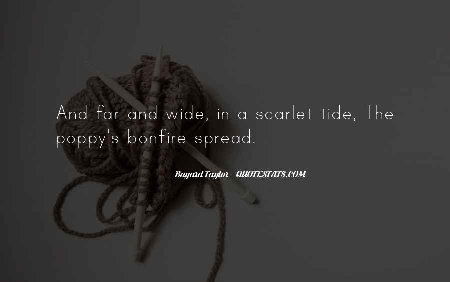 Quotes About Scarlet #312758