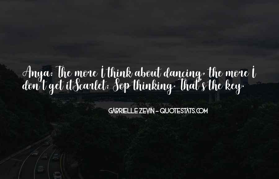 Quotes About Scarlet #389918
