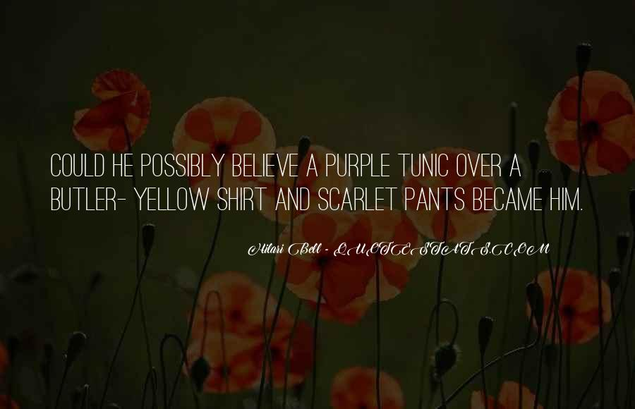 Quotes About Scarlet #441166