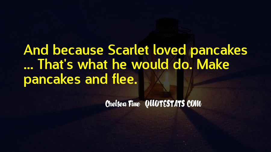 Quotes About Scarlet #82341