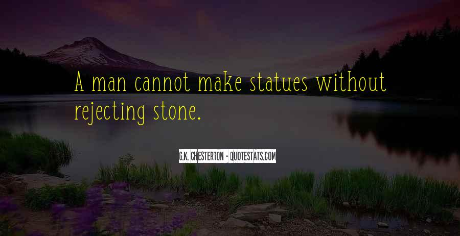 Quotes About Stone Statues #1318679