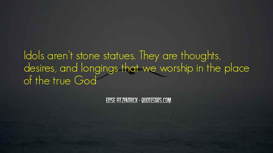 Quotes About Stone Statues #1361433