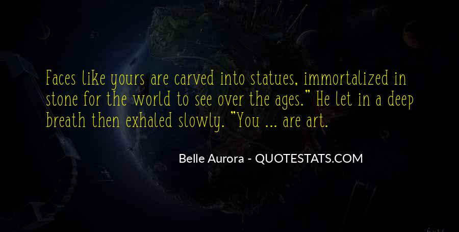 Quotes About Stone Statues #1601459
