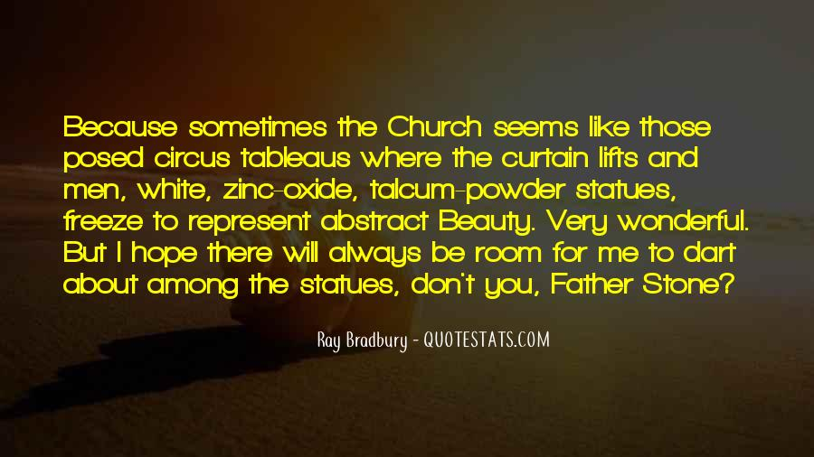Quotes About Stone Statues #764543