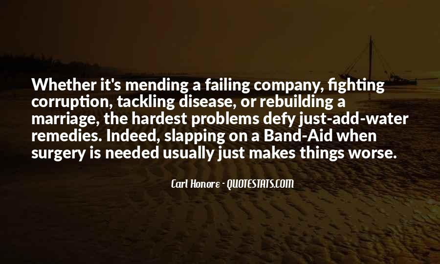 Quotes About Marriage Problems #1199049