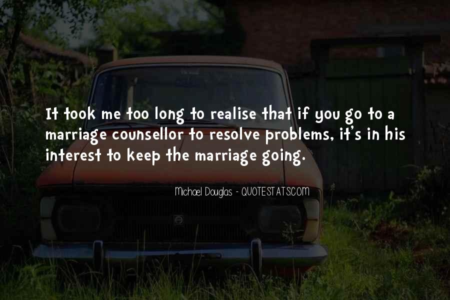 Quotes About Marriage Problems #1644859