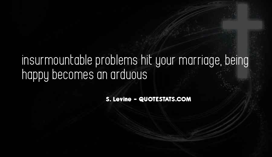 Quotes About Marriage Problems #205603