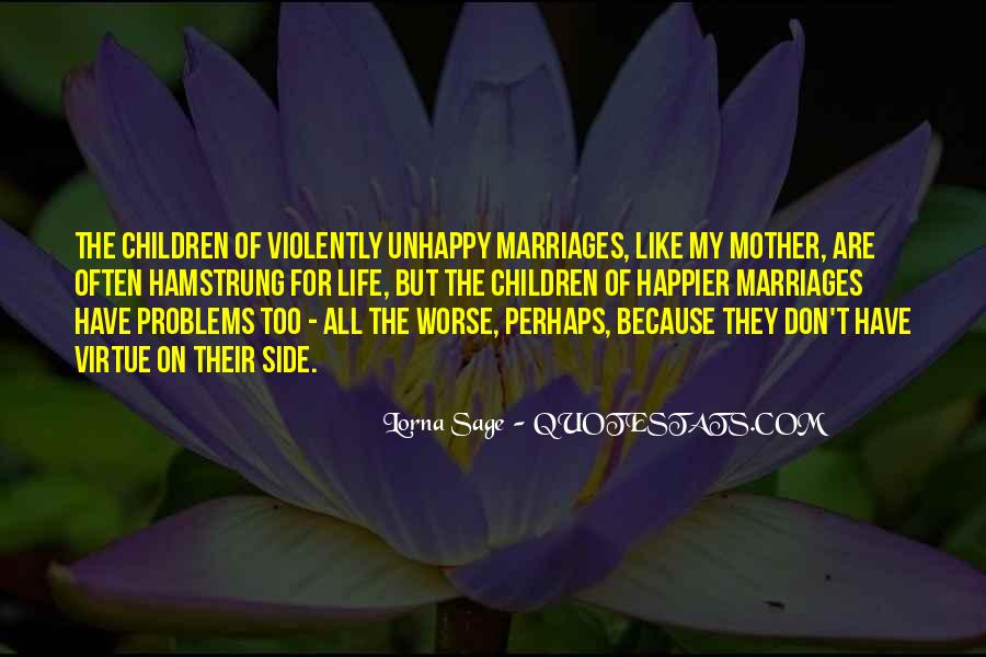 Quotes About Marriage Problems #597610