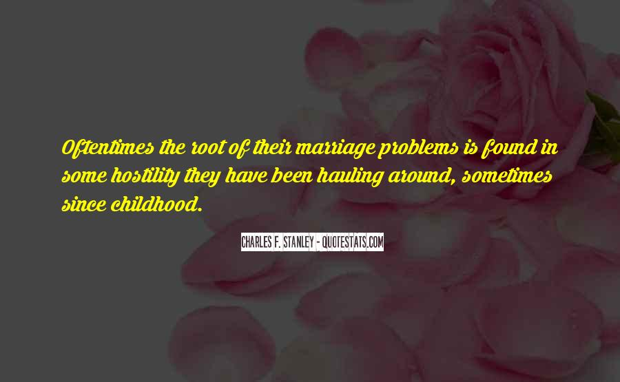 Quotes About Marriage Problems #726854