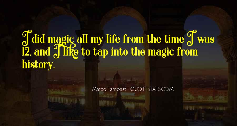 Quotes About Magic The Tempest #1872660