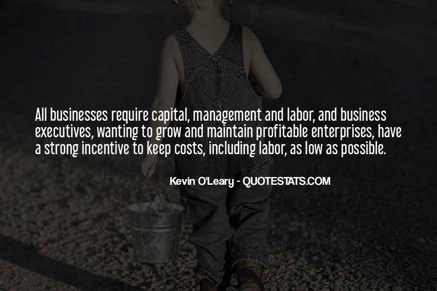 Quotes About Business Executives #1095427