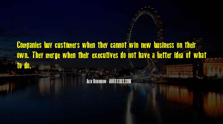 Quotes About Business Executives #1265100