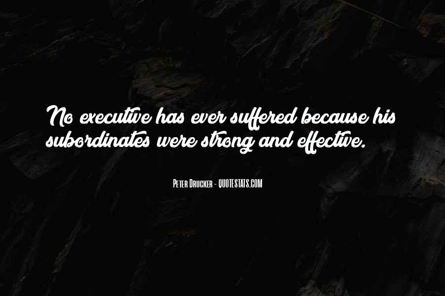Quotes About Business Executives #1348605