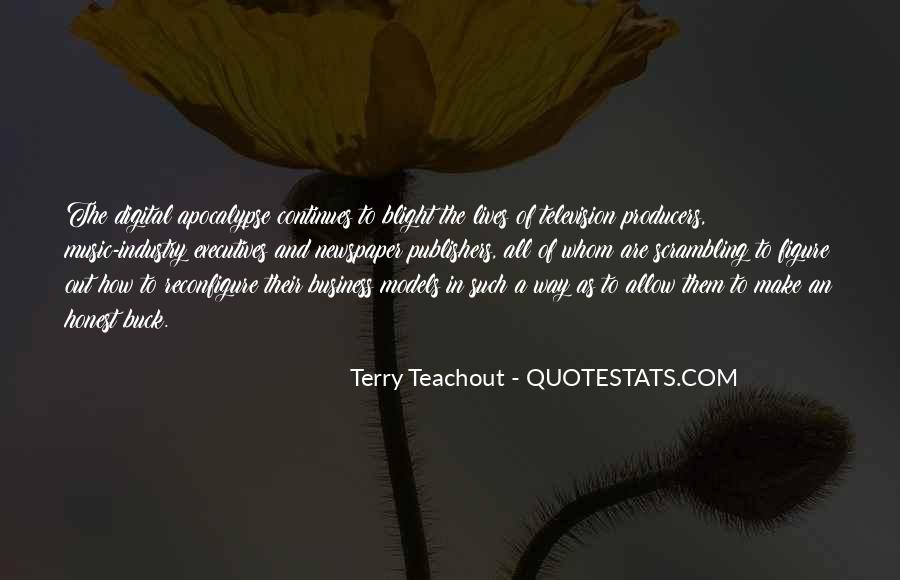 Quotes About Business Executives #1348793