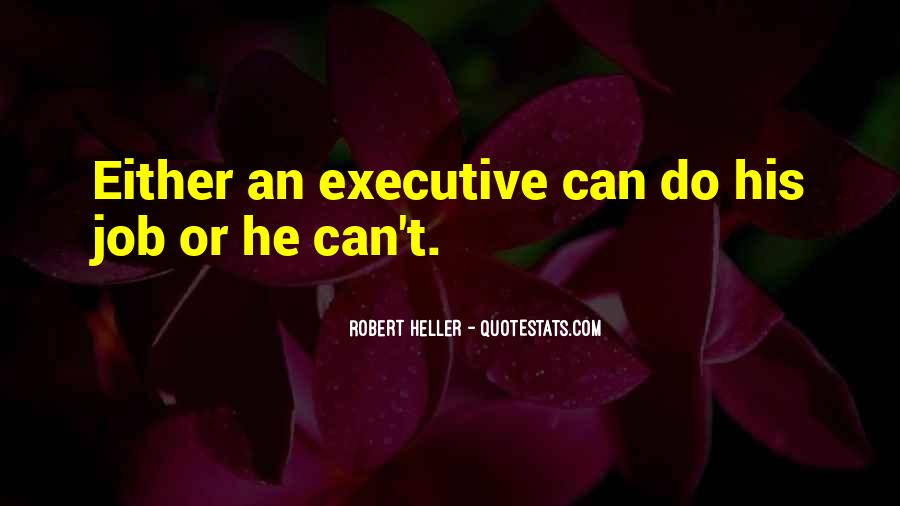 Quotes About Business Executives #1583850