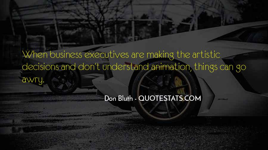 Quotes About Business Executives #1593586