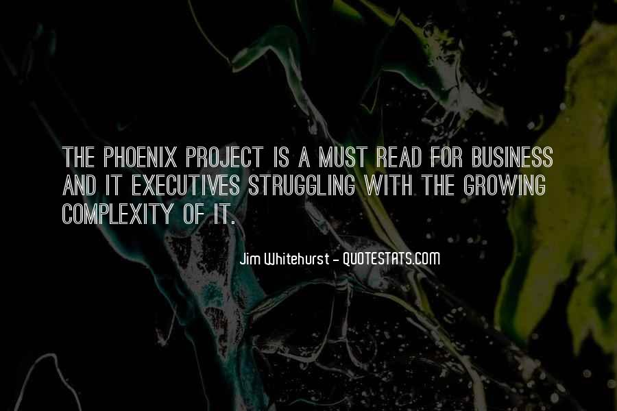 Quotes About Business Executives #1673765
