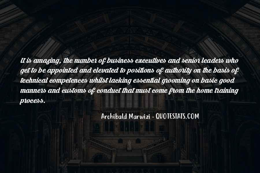 Quotes About Business Executives #1714131