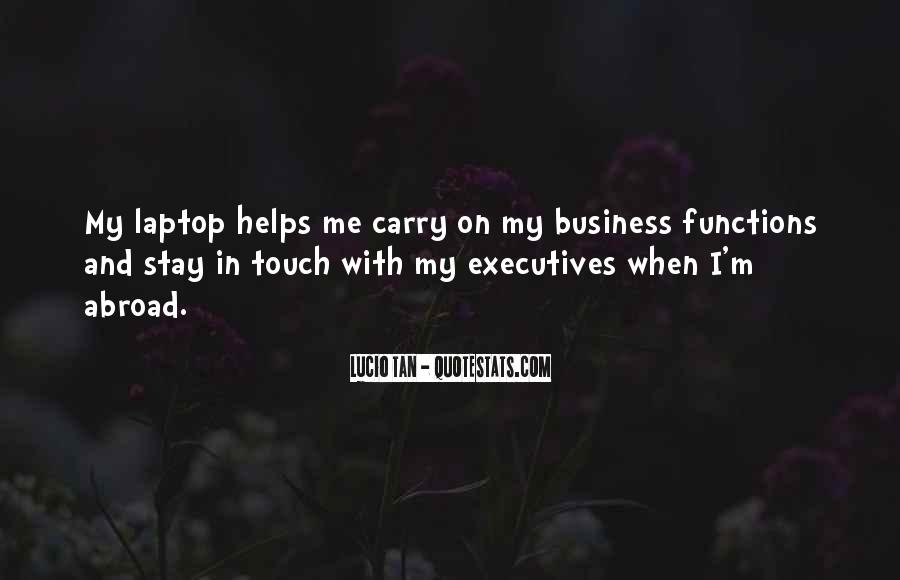 Quotes About Business Executives #1774463