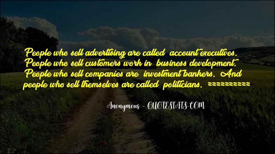 Quotes About Business Executives #613082