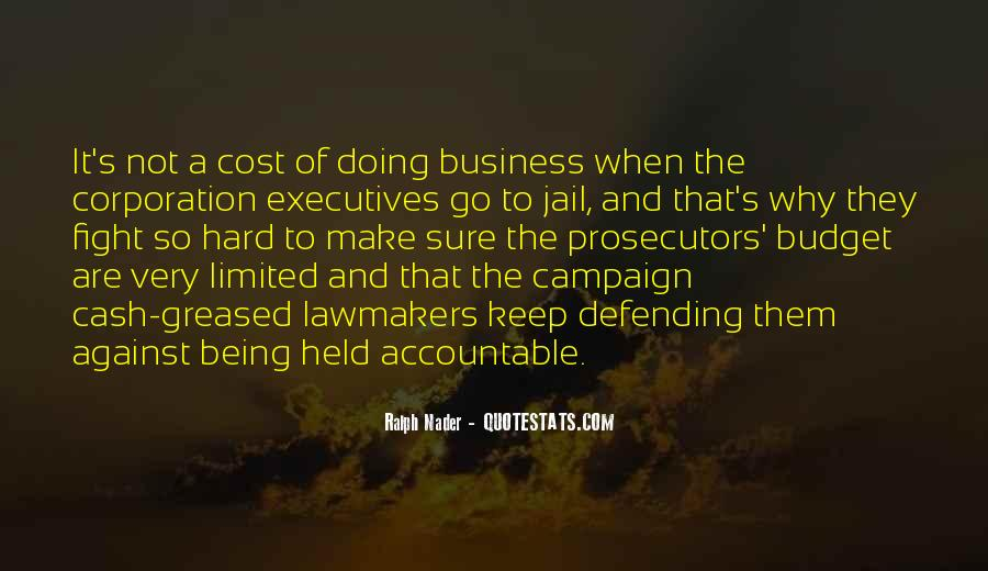 Quotes About Business Executives #820370