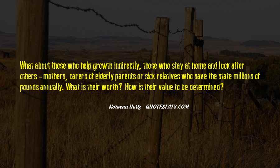 Quotes About Sick Parents #253272