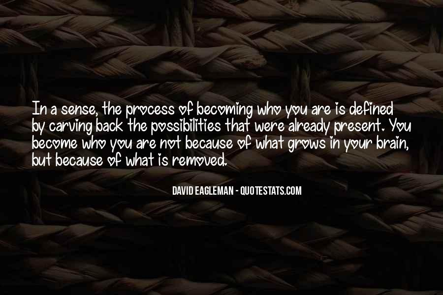 Quotes About Who You Are Becoming #1195162