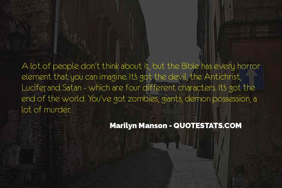 Quotes About Lucifer In The Bible #1590160