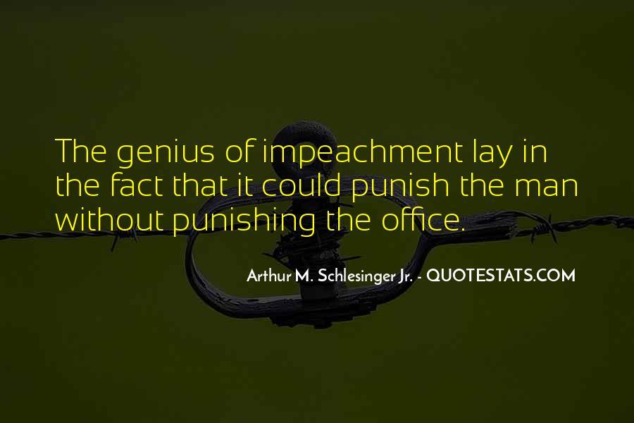 Quotes About Impeachment #1183283
