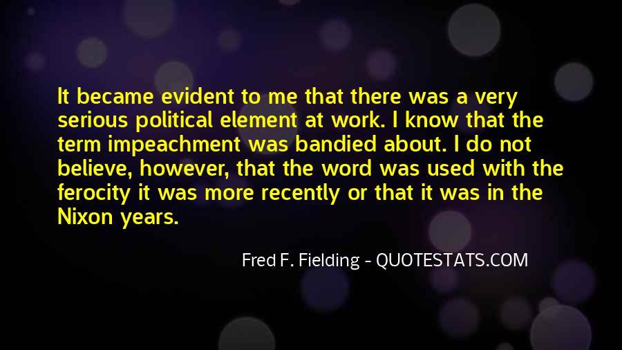 Quotes About Impeachment #1242891