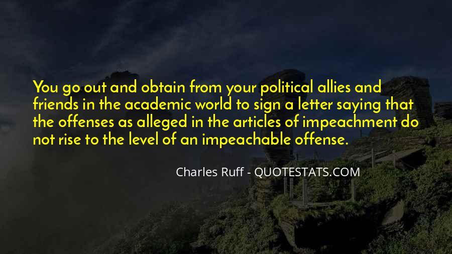 Quotes About Impeachment #133499
