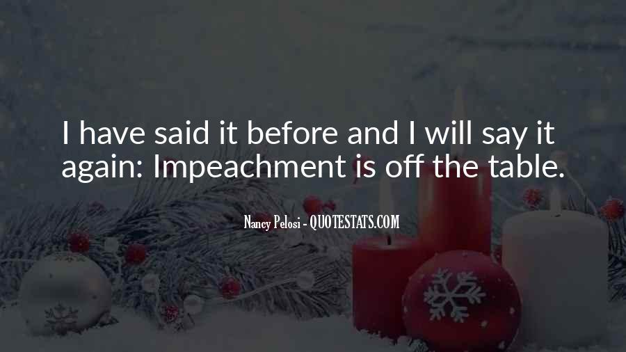 Quotes About Impeachment #1491224