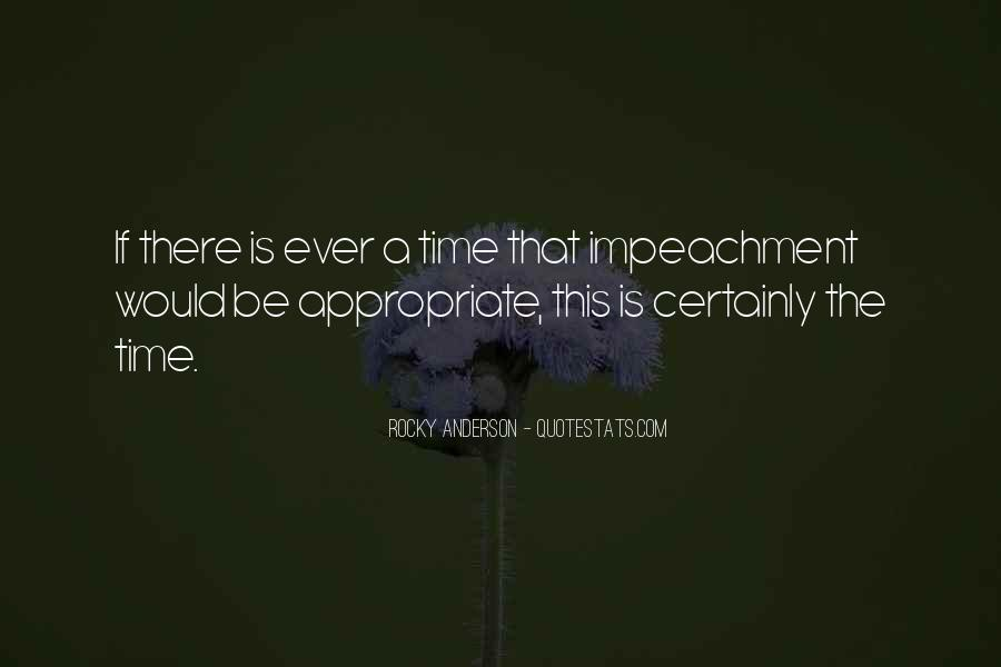 Quotes About Impeachment #1533236
